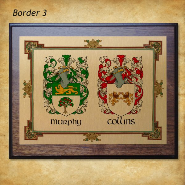 Anniversary Plaque Border 3