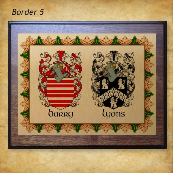 Anniversary Plaque Border 5