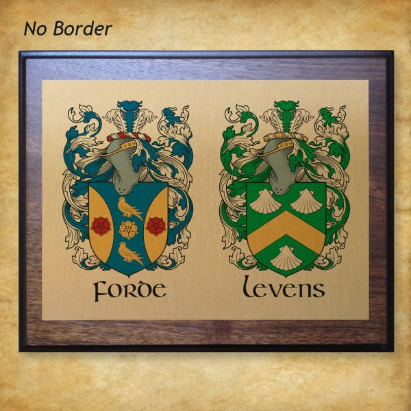 Wedding Plaque - No Border