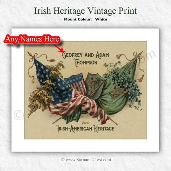 Boston-Irish, New York-Irish, Chicago-Irish, Houston-Irish, Washington-Irish, Las Vega-Irish, Houston-Irish, Philadelphia-Irish, San Antonio-Irish, all Irish Americans celebrate your Irish roots.