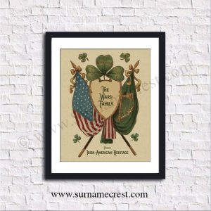 Vintage print with your name added. Superb gift on quality parchment paper. Fast shipping.
