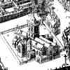 St Nicholas chuch Galway, Ireland. - 17th Century map