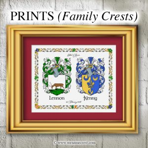 PRINTS - (Family Crests)