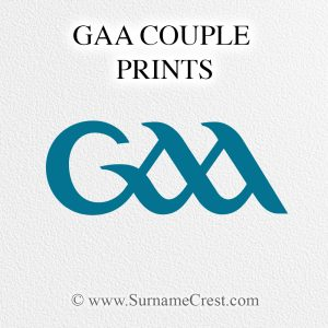 GAA Prints for couples. Ideal for GAA fans getting engaged or married. Top selling Gifts.