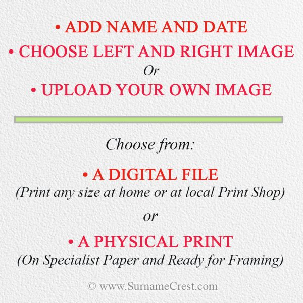 Purchase a digital file gift - sent to you to print yourself or a beautifully printed physical Print.