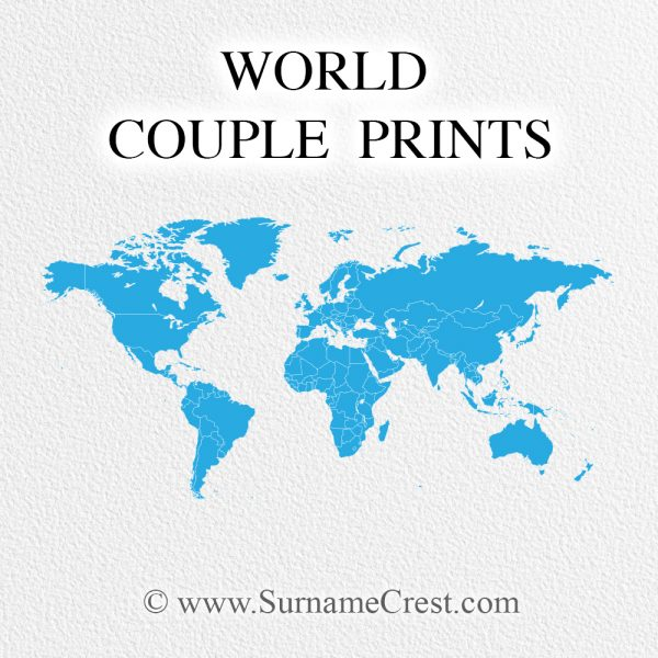 Personalised print for a couple from different countries. Beautifully designed, a great addition to any home. Fast Delivery.